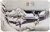 Hiroshige:Kambara-shuku
